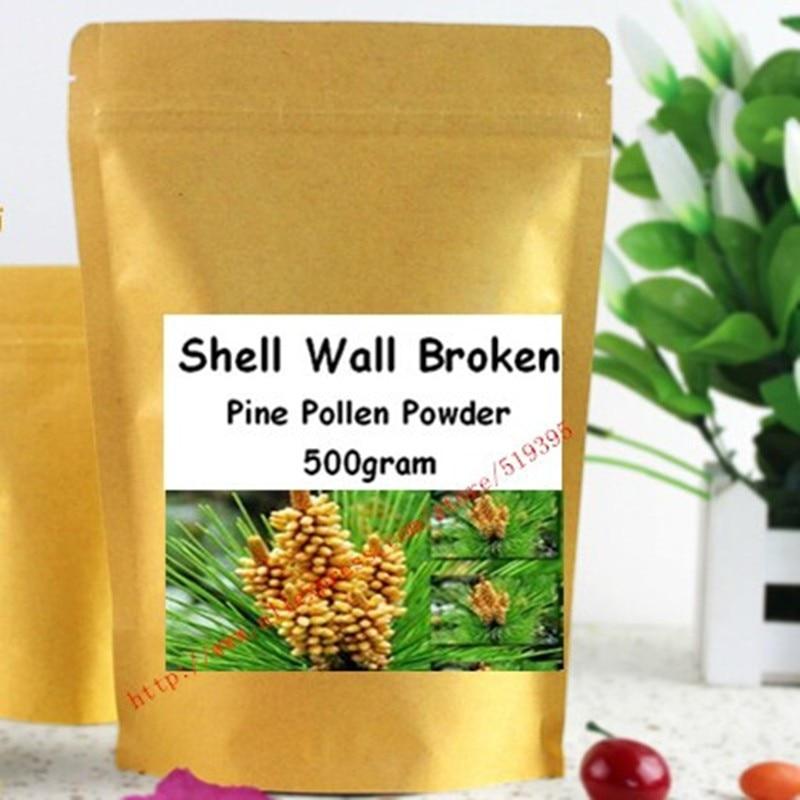 500gram Organic Pine Pollen Powder 99 Percent Broken Cell Wall500gram Organic Pine Pollen Powder 99 Percent Broken Cell Wall