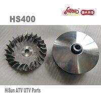 44 hisun ATV PartsDrive колесо в сборе/вариатор Набор HS400 HS500 HS600 HS700 HS800 ATV Quad двигатель Forge Tactic Coleman cub cadet