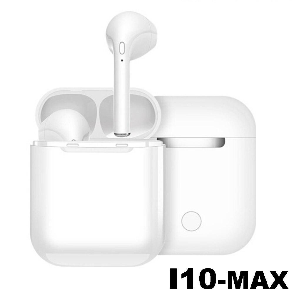 I10 Max TWS Ifans Dual cuscinetti Auricolari Mini Senza Fili di Bluetooth V5.0 Auricolare Auricolari Senza Fili Auricolare Auricolari Con Scatola Carica Baccelli