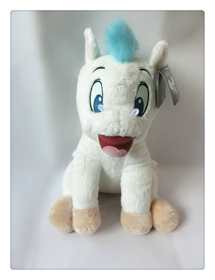 Classic Animation Hercules Baby Pegasus Plush White Horse Toys 33cm Pelucia Plush Toys for Children Kids Toys Gift