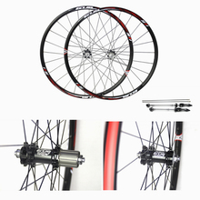 GUB 1950 26 27.5″ MTB Mountain Bike Wheelsets 4 Bearing Hub Bike Parts Bike Aluminum Alloy Wheel Sets 24Holes Cycling Wheels