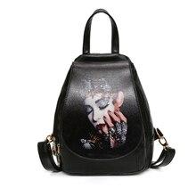 Высокое качество рюкзак 2017, женская обувь Оксфорд тиснением моды красная роза бренд Back Pack школьная сумка для подростков девочек Bagpack Bolsas