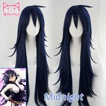 AniHut Midnight Nemuri Kayama Cosplay Wig My Hero Academia Synthetic Blue Hair Anime Boku No