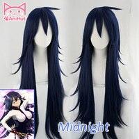 AniHut Midnight Nemuri Kayama Cosplay Wig My Hero Academia Cosplay Wig Synthetic Blue Hair Anime Boku No Hero Academia Cosplay