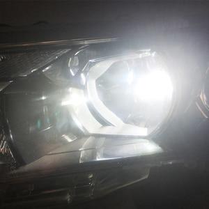 Image 4 - 1 pair 72W H7 led Car lights 3000lm CANBUS LED Bulb White 6000k led Car Headlight car lamp 12V 24V H7 headlamp car styling