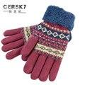 2017 Men's Gloves Wool Knit Gloves Winter Male Mittens Comfortable Wear Touchscreen Warm Wool Glove Guantes Hombre