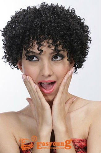 Groovy Aliexpress Com Buy Afro Curly Hair Styles Wig For Black Women Short Hairstyles Gunalazisus