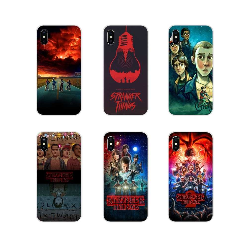 For Apple iPhone X XR XS MAX 4 4S 5 5S 5C SE 6 6S 7 8 Plus ipod touch 5 6 Accessories Phone Cases Covers Stranger Things 2