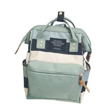 8fb12b438064 2018 корейский стиль девушки холст школьный рюкзак женщины kanken Рюкзак  Мода девушка дорожные сумки Mochila feminina escolar bagpack
