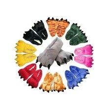 Тапочки в виде животных для детей, взрослых, женщин, мужчин, девочек и мальчиков, с рисунком единорога, динозавра, Пикачу, жирафа, зимняя Пижама