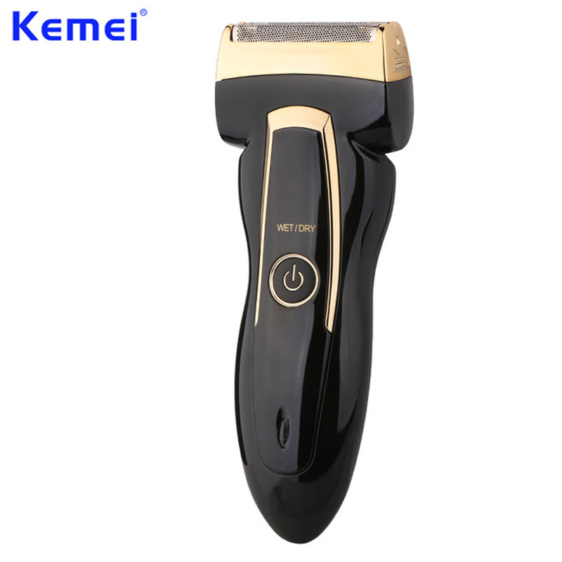 KEMEI Electric Shaving Razors Rechargeable Reciprocate Hair Removal Shaver Razor Hair Cutting Machine barba masculina KM-858