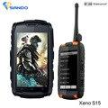 IP68 robusto teléfono Impermeable a prueba de Choques Android Dual sim teléfono Radio Walkie talkie UHF S19 MTK6582 GPS 3G NFC S15 CE FCC