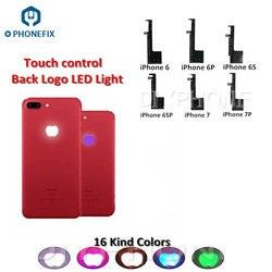 PHONEFIX powrót Logo oświetlenie LED Flex Cable dla iPhone 6 6P 6S 6S Plus 16 kolorów podświetlenie LED z telefonem narzędzia do otwierania|cable for|cable for lightingcable for led -