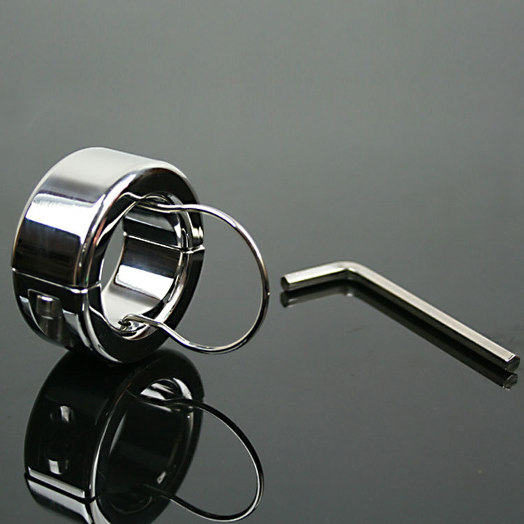 300g(10.6oz) Weights Testicle Balls Scrotum Pendant Stainless Steel Ball Stretchers Cock Ring Locking Real Men CBT Sex Product300g(10.6oz) Weights Testicle Balls Scrotum Pendant Stainless Steel Ball Stretchers Cock Ring Locking Real Men CBT Sex Product