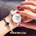 Новый часы женщины моды роскошные часы Мода марка Наручные часы повседневная кварцевые часы браслет женщины montre femme бесплатная доставка