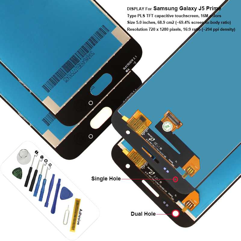 Original On5 On7 G570 G570Y G570M G571 G570F LCD For Samsung Galaxy J5 Prime Display Touch Screen Digitizer Assembly ReplacementOriginal On5 On7 G570 G570Y G570M G571 G570F LCD For Samsung Galaxy J5 Prime Display Touch Screen Digitizer Assembly Replacement