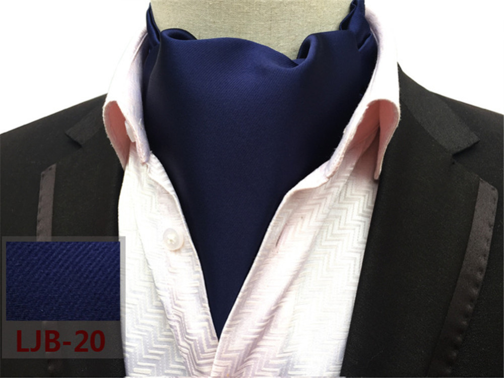CityRaider New Brand Silk Men's Scarves Blue Solid Color Mens Cravats  Novelty Wedding Slim Ascot Tie For Men Neckties Tie CR012 - buy at the  price of $4.38 in aliexpress.com   imall.com