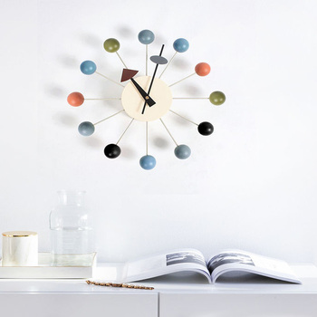 Nordic 3D wooden Large Wall Clock Home Decor Nixie Watch Modern Design Living Room Kitchen Silent Big Clock On The Wall For Gift
