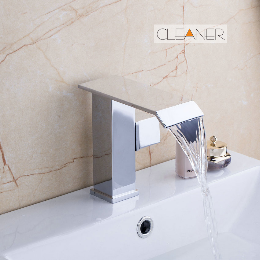 Tall Double Lever Bathroom Basin Sink Mixer Tap Chrome Mono Spout Water Faucet UDS-7186 tall tales