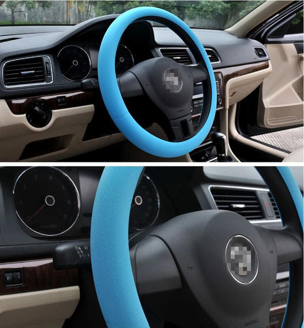 Car Steering Wheel Cover Covers Accessories For Mini Cooper R50 R53 R56 F56 Smart Fortwo Forfour Vw Glof 5 6 7 Polo