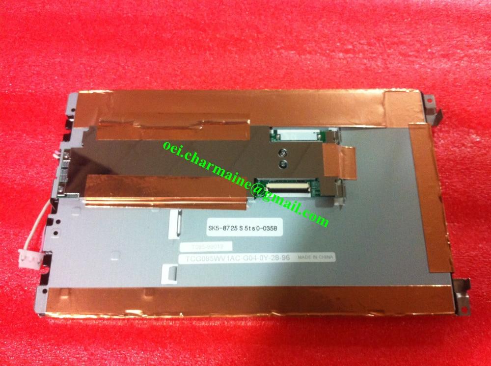 TCG085WV1AC-G04 8.5 INCH LCD DISPLAY SCREEN 800X480 LCD PANEL INDUSTRIAL LCD куплю wv транспортер 2007 г