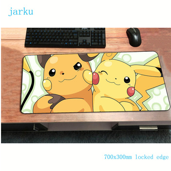 pokemons mouse pad best 700x300mm cute gaming mousepad gamer mouse mat HD pattern pad keyboard computer padmouse laptop play mat 1