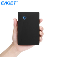 Eaget G20 Encryption External Hard Drive 3TB/2TB/1TB/500GB USB 3.0 HDD 2.5 Portable External Hard Disk 1TB for Laptop Computer