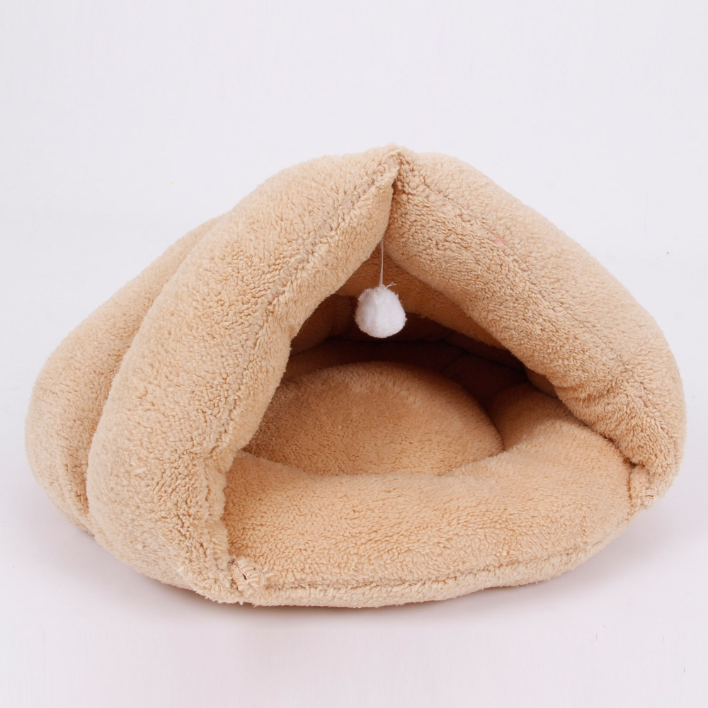 Pawz Road New Pet Bed Super Soft Material Suit for Cat Sleep Beds Dog Kennel Pet Supplies Puppy Dog Cat Bed 4 Colors S/M