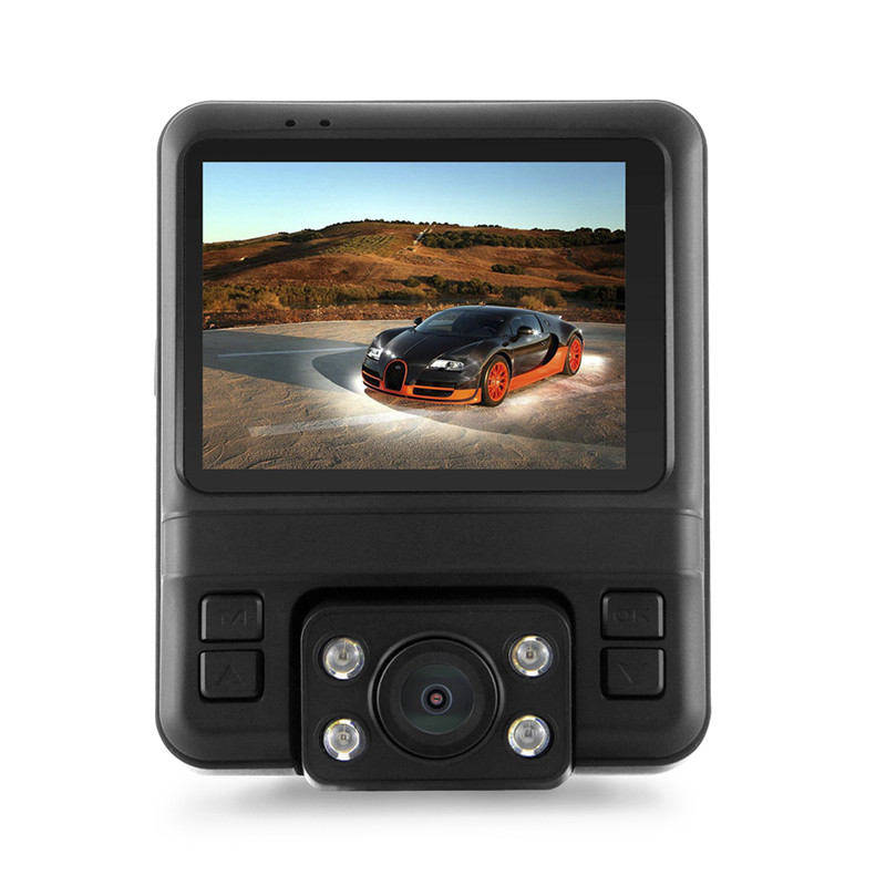 GS65H Driving Recorder Car DVR Support GPS Track Function with Built-in GPS Module 1080FHD 1920 * 1080 dual lens dashcam camera