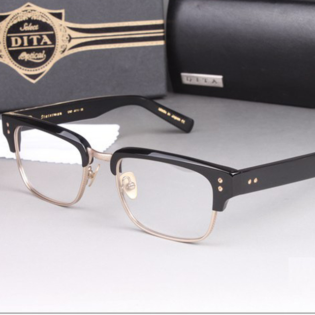 DITA brand Vintage Women Men Brand Designer reading Eyeglasses Frame Eye  Glasses Eyewear Optical Glass armacao oculos de grau 68436b0e34