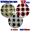 2016 HOT 3d Fish Eyes 12MM Silver 64pcs Red 64pcs Gold 64pcs In Total 192pcs Lot