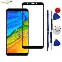 Redmi5 painel frontal para xiaomi redmi 5 plus sensor de tela toque lcd digitador da tela vidro capa redmi redmi 5 plus touchscreen