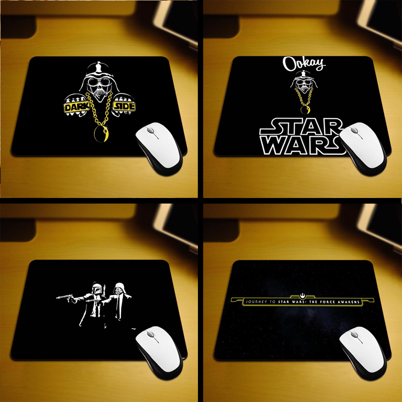 MaiYaCa 2017 Hot Star Wars cool New Small Size Mouse Pad Non-Skid Rubber Pad 220mmX180mmX2mm and 250mmx290mmx2mm