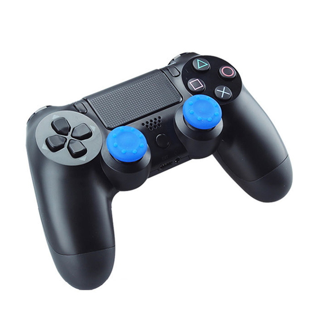 2pcs Rubber Silicone Cap Thumbstick Thumb Stick X Cover Case Skin Joystick Grip Grips For PS2/3/4 XBOX 36E Controller JLRL88 1