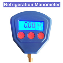 R22 R410 R407C R404A R134A Air Conditioner Refrigerant Low & High Pressure Gauge PSI KPA Refrigeration Pressure Gauge Coolant