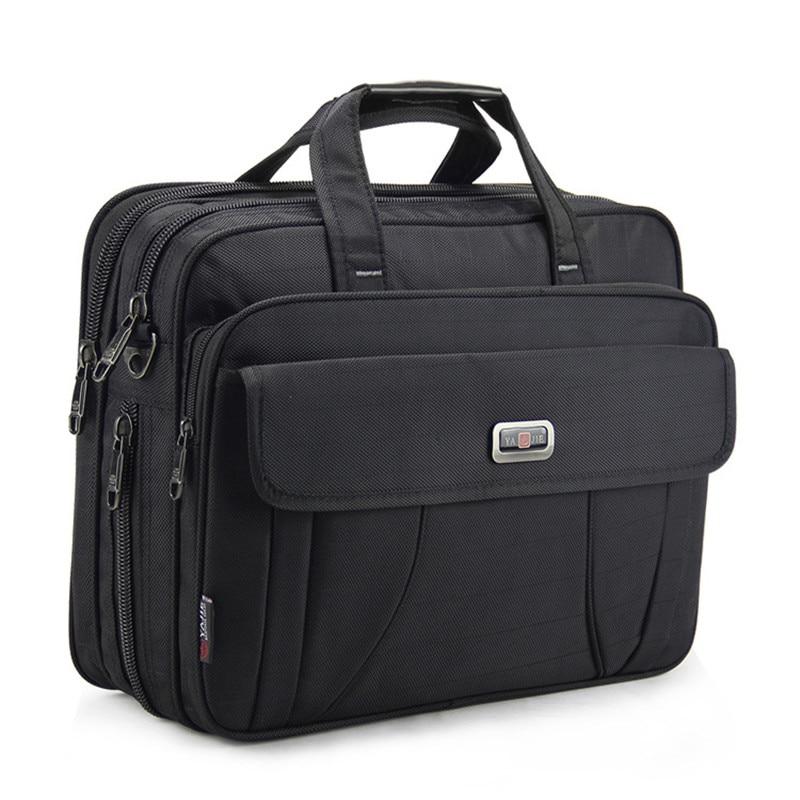 15 inch Laptop Briefcase Messenger Bag Multifunction Business Travel Handbag for HP Dell Lenovo Macbook Black Large Capacity цена