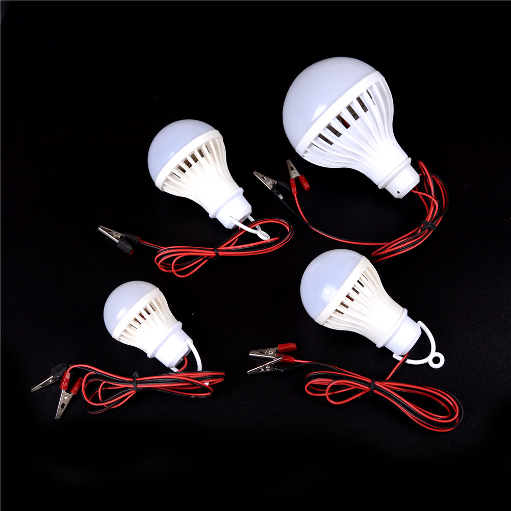 LED Bulbs 12V DC 3W 5W 7W 12W LED Lamp Home Camping Hunting Emergency Outdoor Light Lamparas
