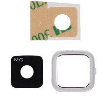 10pcs/lot New Original Camera Lens Cover For Samsung Galaxy Note 4 IV N910 N910H N910F N910G with Frame Glass Lens Glue sticker