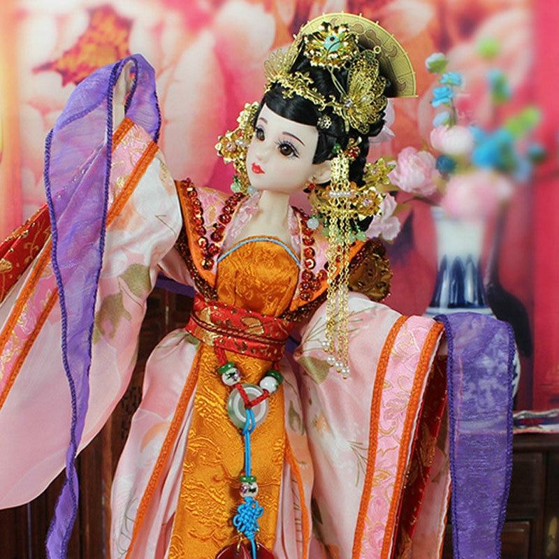 35 CM Bjd Doll Empress Zhangsun Dinastía Tang China Muñeca de - Muñecas y peluches - foto 3