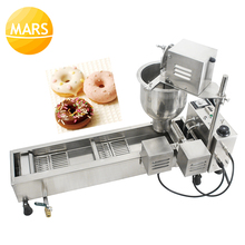 Commercial Donut Maker Electric 110V 220V Automatic Doughnut Donut Machine Maker Fryer eg6a electric commercial desktop mini donut fryer baking making maker machine