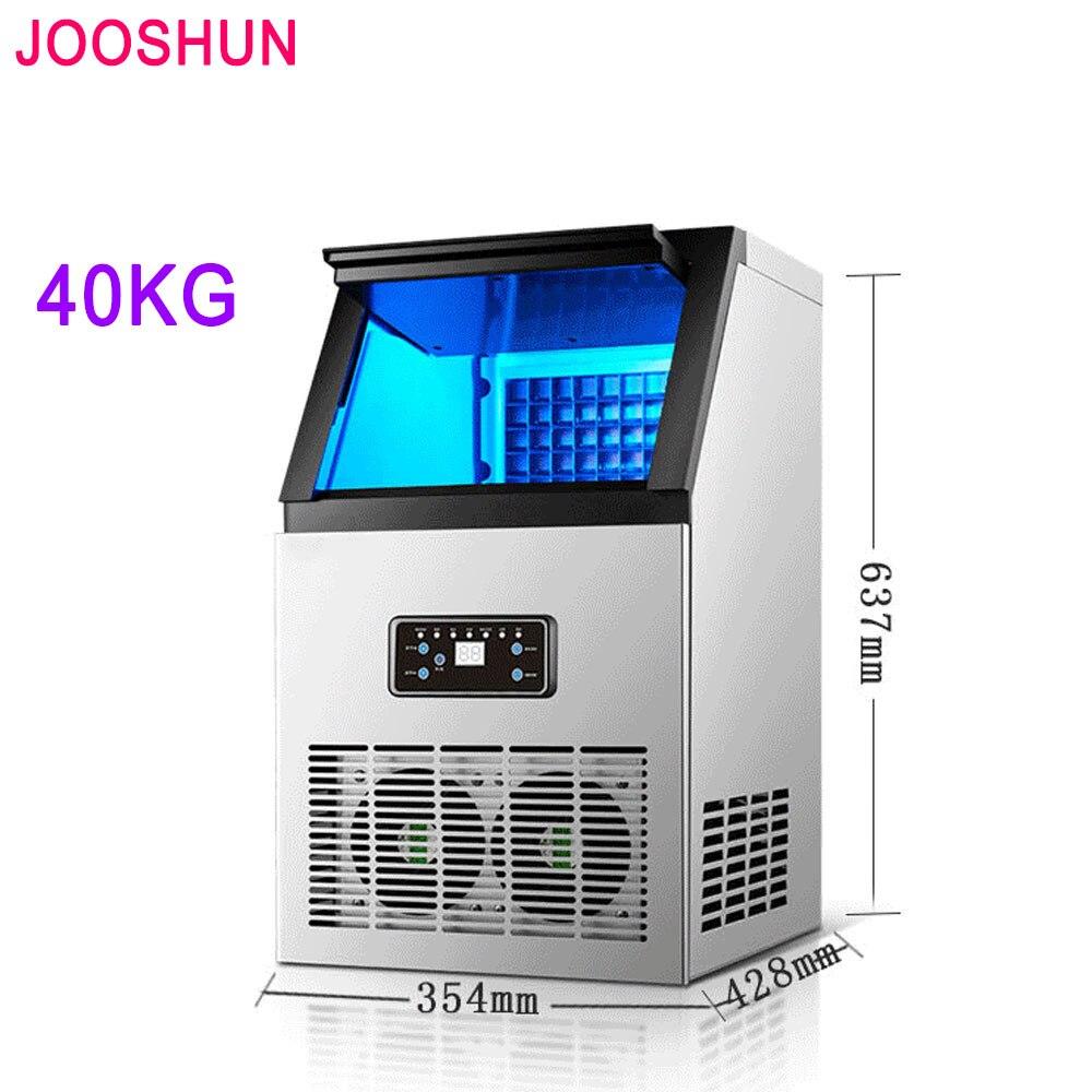 220 V/110 V Ice Ball Maker Maschine Kommerziellen Milch Tee Shop Home Große Automatische Ice Cube Maker Große Kapazität 40 Kg/24 H Eismaschine