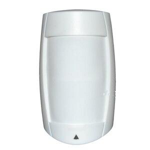 Image 2 - 1 stücke Indoor infrarot detektor für sicherheit alarm anti diebstahl draht PIR motion sensor paradox DG75 intruder detektiv freeshipping