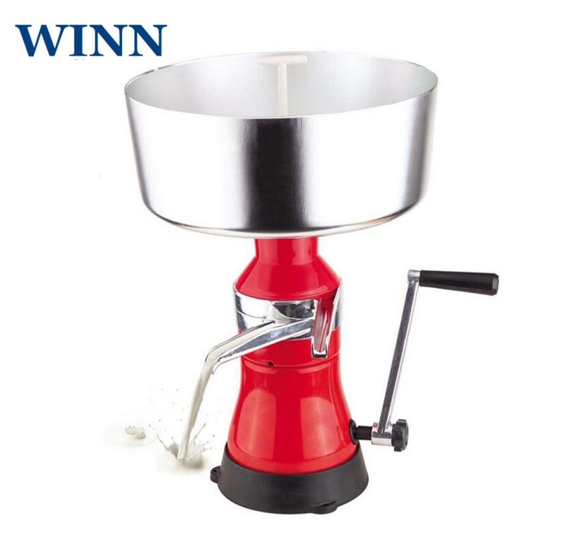 Séparateur de lait et de crème à manivelle WINN séparateur de crème centrifuge manuel séparateur de crème 80L/h creampurificateur