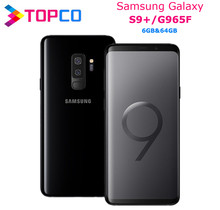 Samsung Galaxy S9 + S9 artı G965F orijinal 4G LTE android cep telefonu Octa çekirdek 6.2