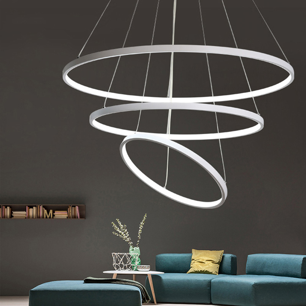 купить Led Modern Pendant Lights Lamp For Living Room Bedroom Lamparas Colgantes Nordic Lustre Luminaire Industrial Lighting Fixtures по цене 7341.1 рублей