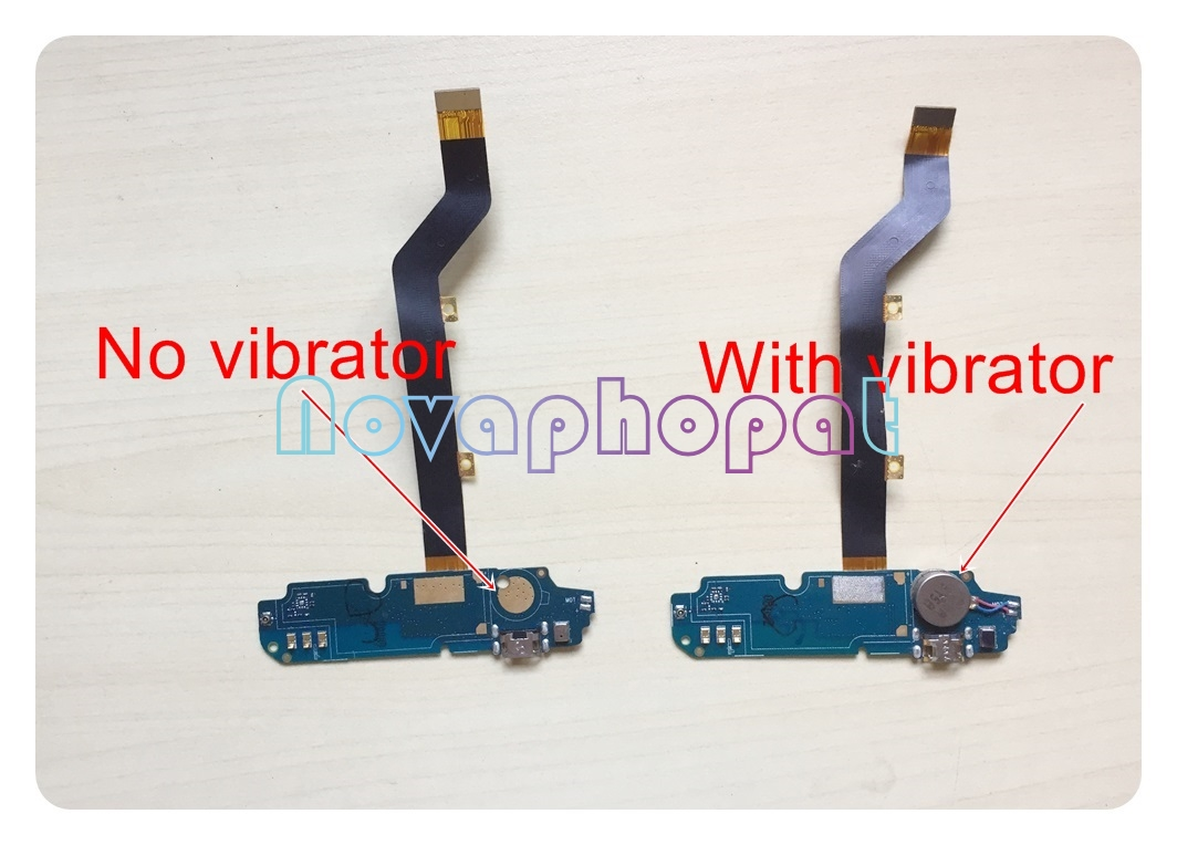 Novaphopat For ZTE BLADE X3 A452 USB Dock Charger Charging Port Data Transfer Connect Connector Flex Cable Vibrator Replacement
