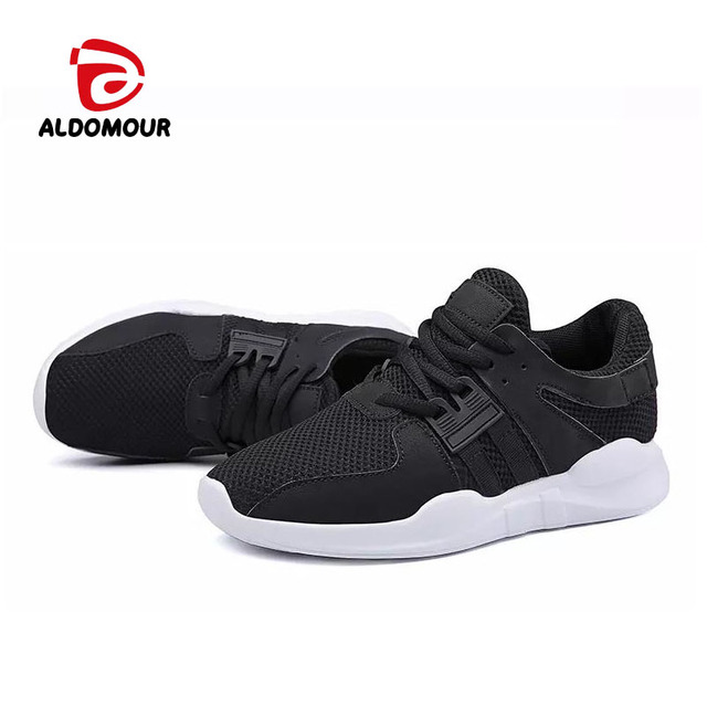 ALDOMOUR Spring 2018 Adult Women Running Shoes Sneakers Sport Shoes Slippers Zapatos De Hombre Lace-up Breathable Size 35-40 WLS