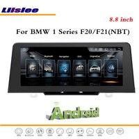 Liislee Android Carro Multimídia Para BMW Série 1 F20/F21 2017 Sistema de Rádio BT CD DVD Player GPS Navi NBT Mapa do Sistema de Navegação