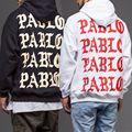 Жизнь Пабло Пабло Kanye West Yeezy Толстовка Мужчины Хип-Хоп тянуть Париж Открытие Сент-Пабло Yeezus Тур, Я чувствую, что Павел Yeezys