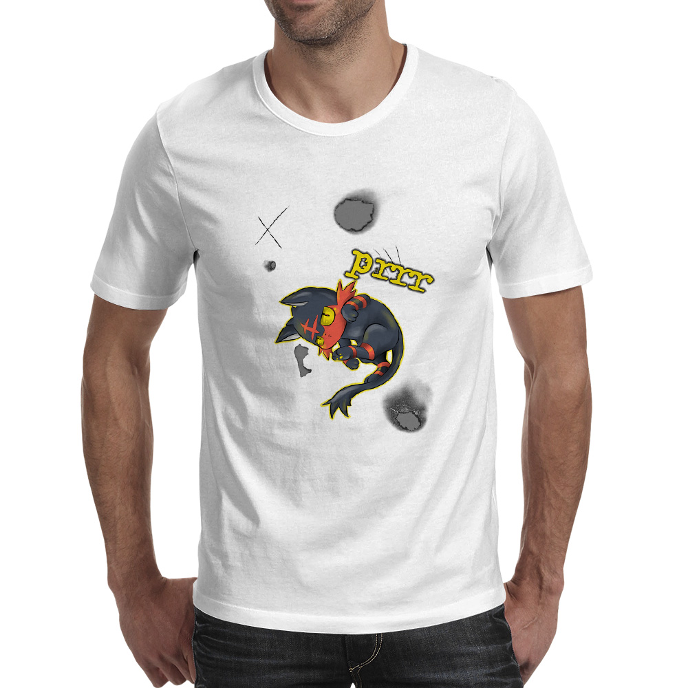 Umbreon Burn póló Casual Brand Design Póló Punk Cool Pop Női - Férfi ruházat